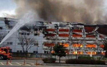 韓国大洋製紙で火災、年産40万tの工場が停止 中国事情も重なり原紙価格上昇