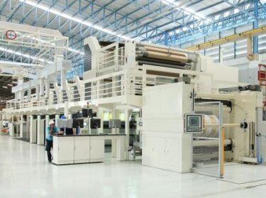 台湾 正隆紙業社ベトナム工場に最新のプレプリントマシン導入