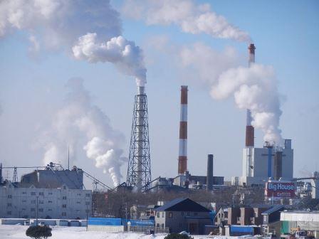 日本製紙 釧路工場