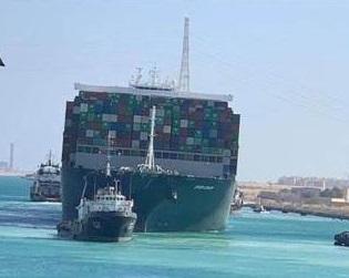 スエズ運河コンテナ船座礁事故 船主である正栄汽船に巨額の損害賠償か
