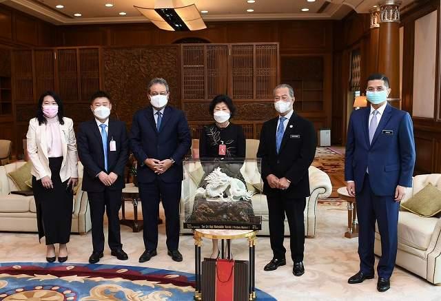玖龍紙業とマレーシア首相