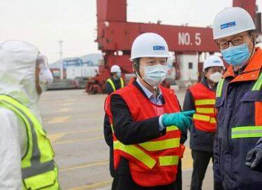 寧波舟山港で新型肺炎陽性者が発生